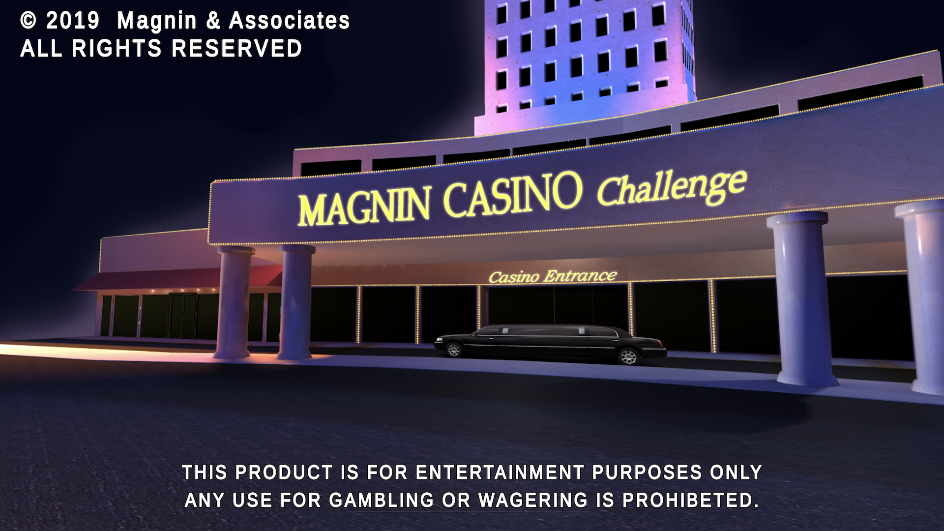 Magnin Casino Challenge for iOS, Android, Apple TV, Windows PC and Xbox Image