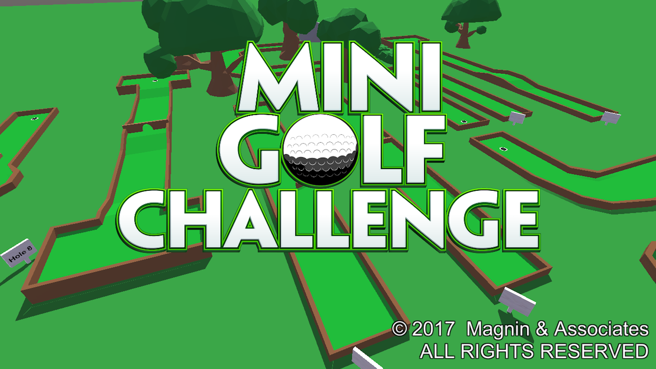 Mini Golf Challenge new game for iOS, Android, and Windows 10 Image