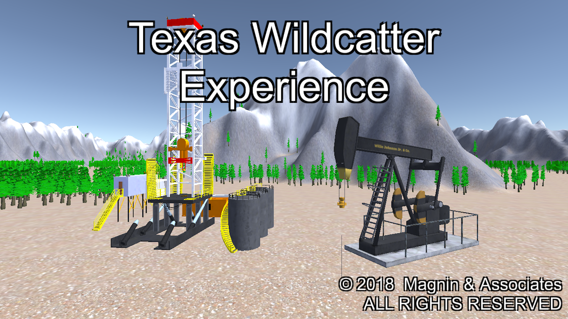 Texas Wildcatter Experience for iOS, Android, Apple TV, Win10 PC & Xbox Image