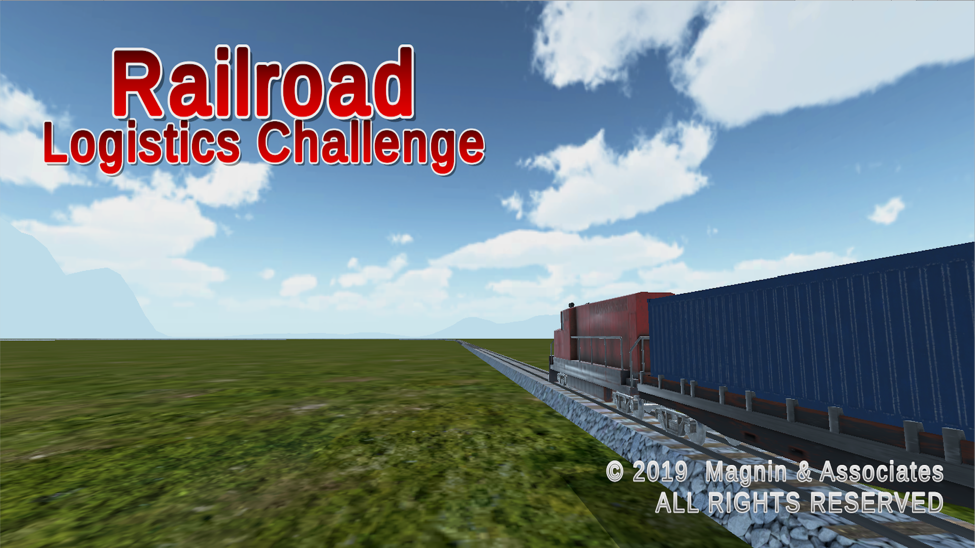 Railroad Logistics Challenge for iOS, Android, AppleTV, Windows PC, Xbox Image
